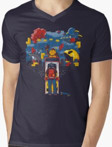 Arcader Mens V-Neck T-Shirt