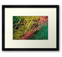 Le Conquet - Filets de pêche Framed Print