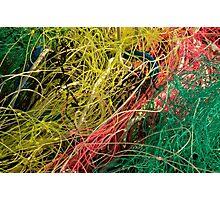 Le Conquet - Filets de pêche Photographic Print