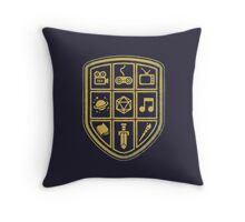 NERD SHIELD Throw Pillow