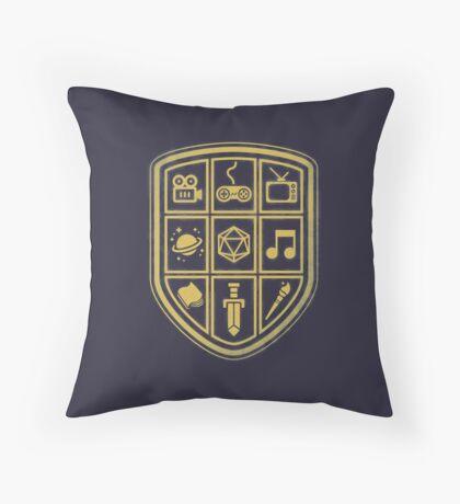 NERD SHIELD Throw Pillow