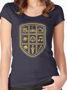 NERD SHIELD Women's Fitted Scoop T-Shirt