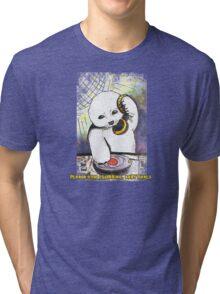 Please Stop Clubbing, Baby Seals Tri-blend T-Shirt