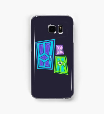 PICK A DOOR! Samsung Galaxy Case/Skin