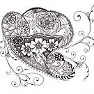 Doodle #4 by Elisa Camera
