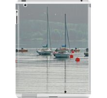 Boats On Carsington Water iPad Case/Skin