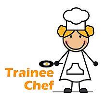 Trainee Chef Photographic Print
