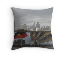 Redfern Mural and City Throw Pillow