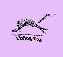 Flying Cat by donpoole