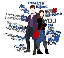 Eleven and Clara by VioletHill