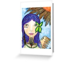 Warrior Within Greeting Card