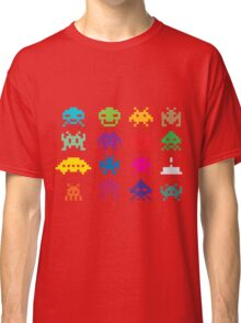 Space Invaders 8-Bit Classic T-Shirt