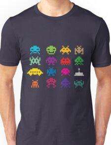 Space Invaders 8-Bit Unisex T-Shirt