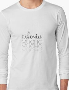 ailoviu! Long Sleeve T-Shirt