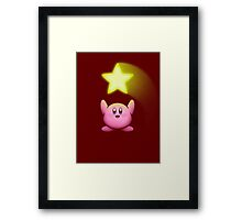 SUPER STAR! Framed Print