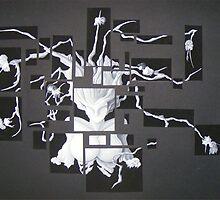 Calendrier de l'Avent (empalements) by Lionel Tosan