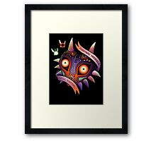 TERRIBLE MASK Framed Print