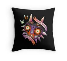 TERRIBLE MASK Throw Pillow
