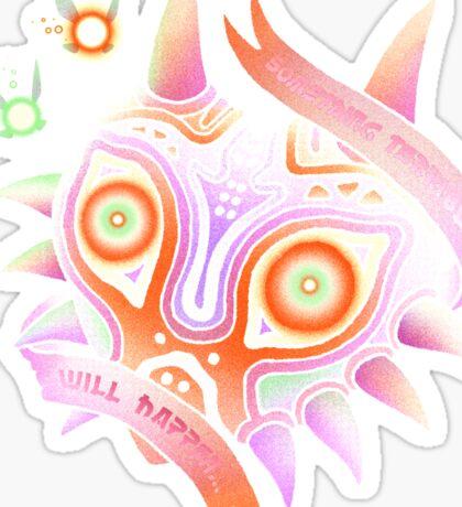 TERRIBLE MASK Sticker