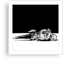 Harley-Davidson Drag Bike Canvas Print