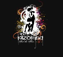 Kizomba. Feel the Flow Womens Fitted T-Shirt