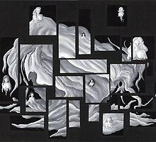 Calendrier de l'Avent (fantomes) by Lionel Tosan