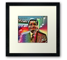 PSYCHEDELIC MEZZ MEISTER Framed Print