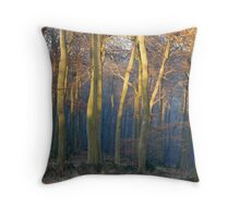 Oxfordshire Woods Throw Pillow