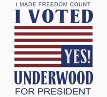 I Made Freedom Count by GarfunkelArt