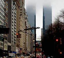 Columbus Circle Towers by Jeanluc
