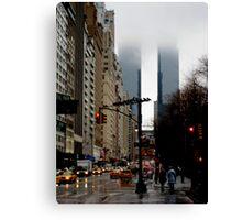 Columbus Circle Towers Canvas Print