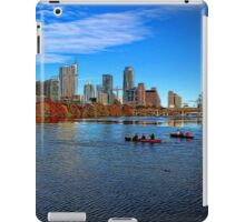 Austin Skyline Painted iPad Case/Skin