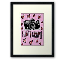 I love photograph Framed Print