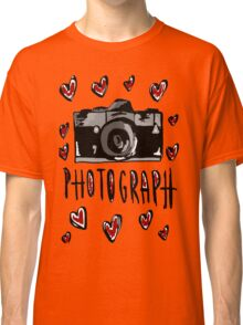 I love photograph Classic T-Shirt