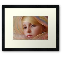 OK Mum you win! Framed Print