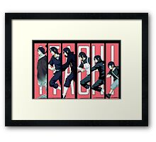Itachi evolution Framed Print