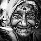 Grandma in b&w...!!! by niklens