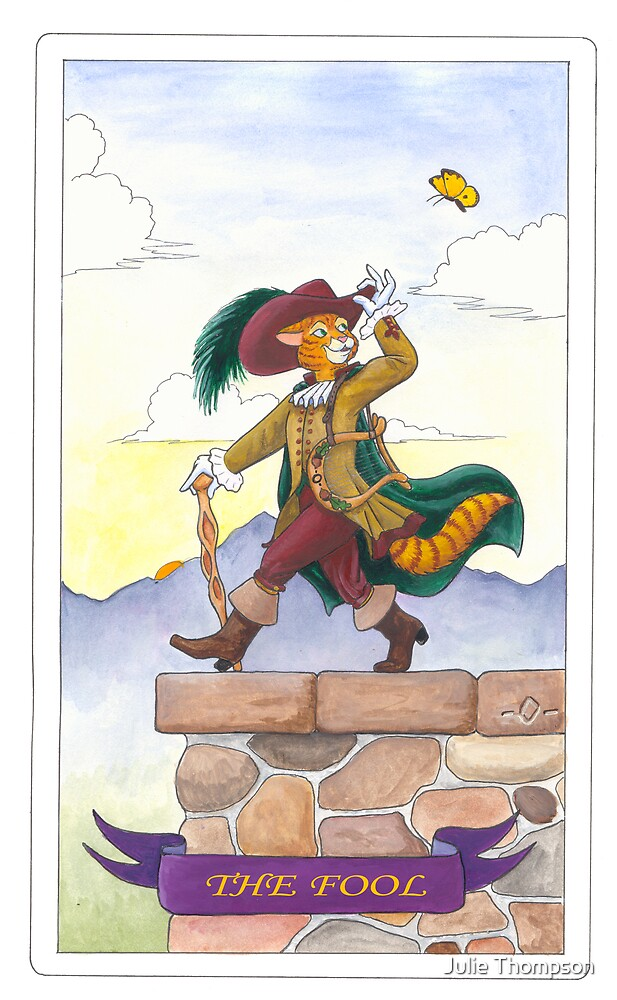 """Tarot - """"The Fool"""" by Julie Thompson"""