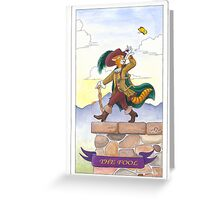 "Tarot - ""The Fool"" Greeting Card"