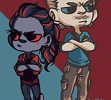 Raven & Wick  by TheKeyThief