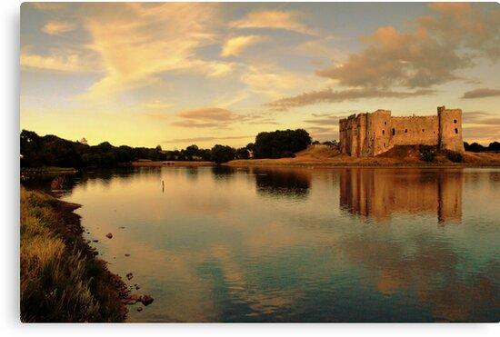 Carew Castle and Bridge by spottydog06