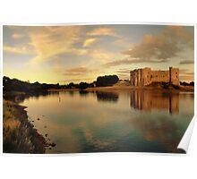 Carew Castle and Bridge Poster