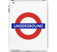 Underground London iPad Case/Skin