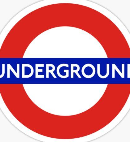 Underground London Sticker