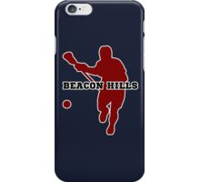Beacon Hills High - Lacrosse iPhone Case/Skin