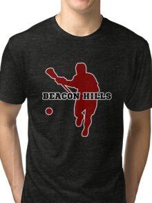 Beacon Hills High - Lacrosse Tri-blend T-Shirt