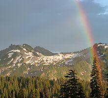 Rainbow over Mountains by Olga Zvereva