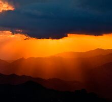 Valles del Tuy Sunset by Jase036