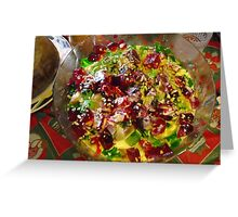 Traditional Trifle  Greeting Card
