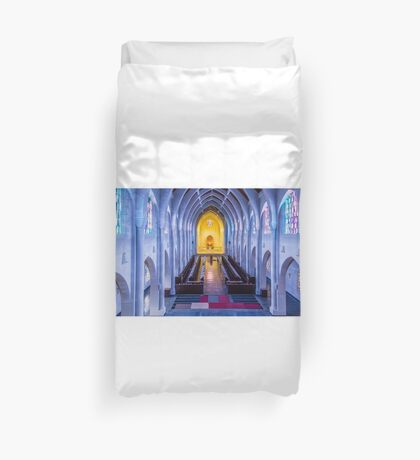 Monastery of the Holy Spirit Duvet Cover